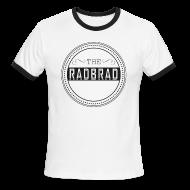 T-Shirts ~ Men's Ringer T-Shirt ~ Men's TheRadBrad Logo Ringer