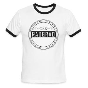 Men's TheRadBrad Logo Ringer - Men's Ringer T-Shirt