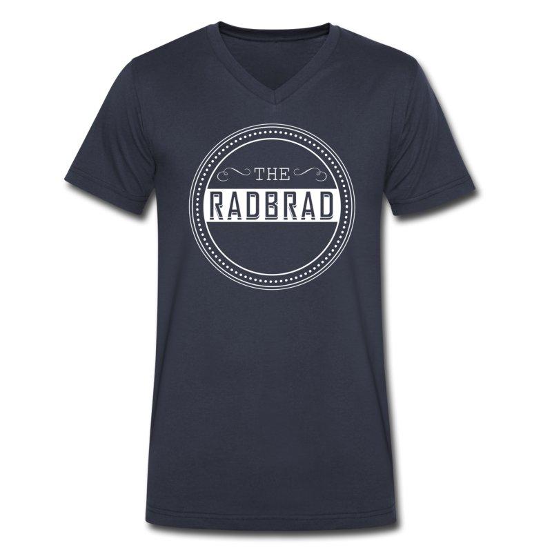 Men's TheRadBrad Logo V-neck - Men's V-Neck T-Shirt by Canvas
