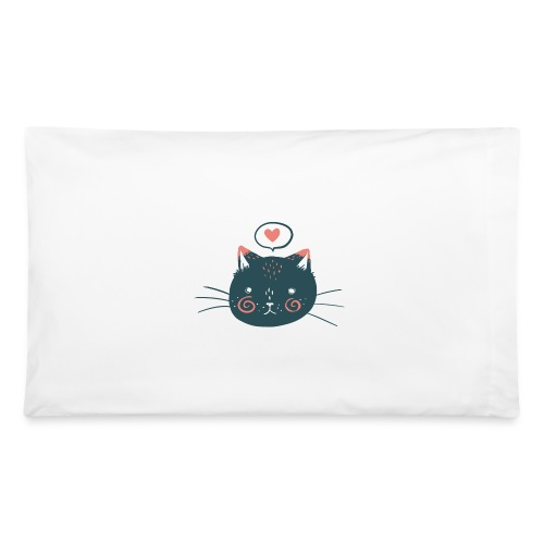 Cat Face Pillowcase - Pillowcase 32'' x 20''