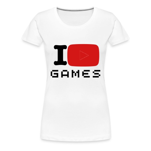 I Play Games (Women's Edition) - Women's Premium T-Shirt