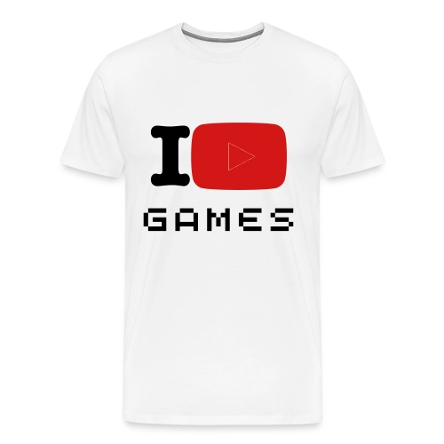 I Play Games (Men's Edition) - Men's Premium T-Shirt
