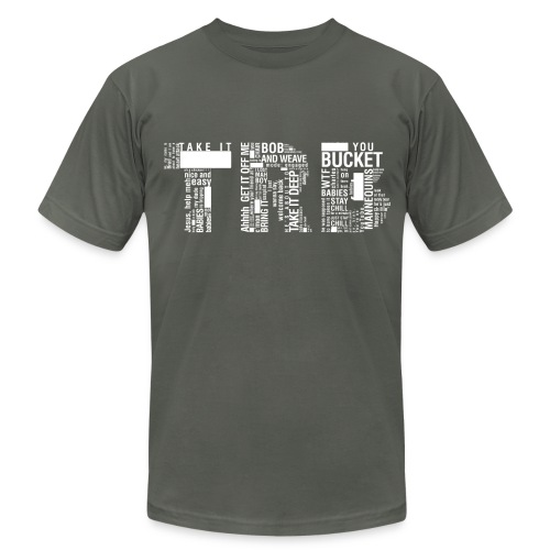 Men's TRB Censored T-Shirt - Men's T-Shirt by American Apparel