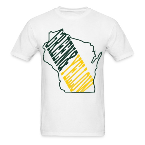 Packers green and yellow - Men's T-Shirt