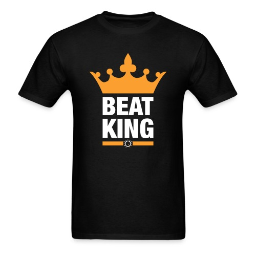 Beat King Black Tee - Men's T-Shirt