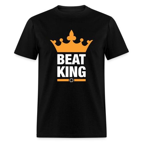 Beat King Black Tee - Men's T-Shirt
