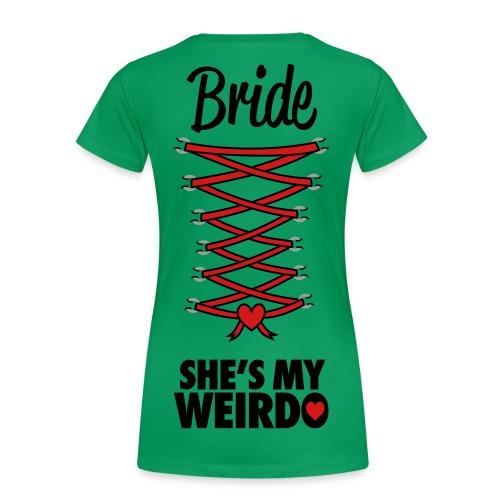 Girls Blade Female  - Women's Premium T-Shirt