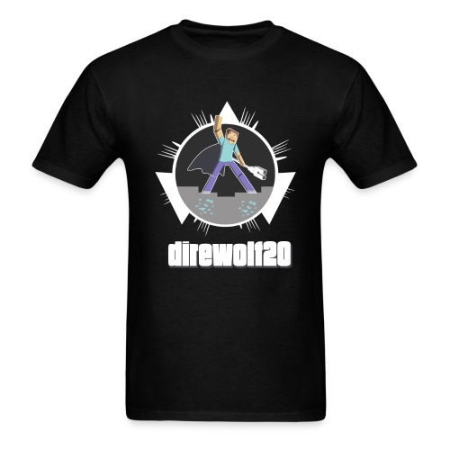 Direwolf20 1.6 Avatar - Men's T-Shirt