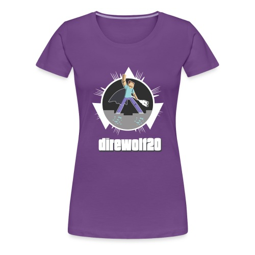 Direwolf20 1.6 Avatar - Womens - Women's Premium T-Shirt