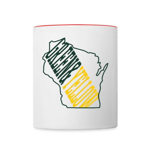 Green & Yellow   - Contrast Coffee Mug