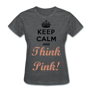 Think PINK! All Year Round T-Shirt - Women's T-Shirt