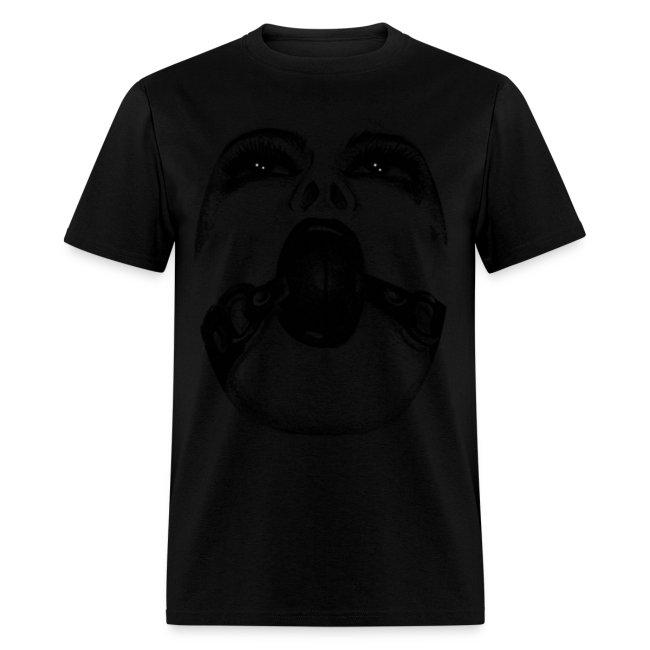 ball gagged mens shirt