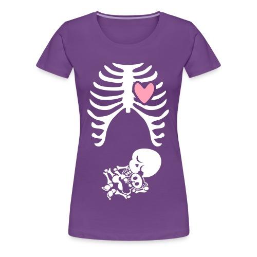 cute maternity shirt. for the first trimester - Women's Premium T-Shirt