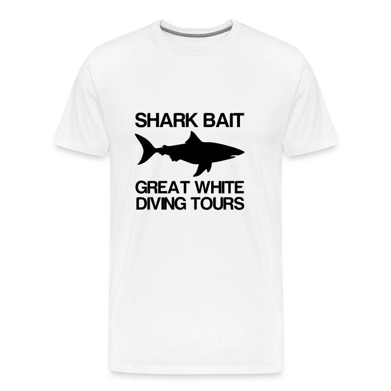 Shark Bait Great White Shark  - Men's Premium T-Shirt