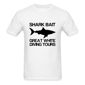 Shark Bait Great White Shark- - Men's T-Shirt