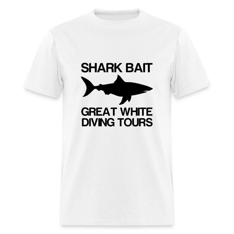 Shark Bait Great White Shark- - Men's T-Shirt