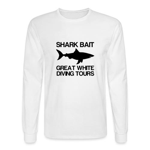 Shark Bait Great White Shark  - Men's Long Sleeve T-Shirt