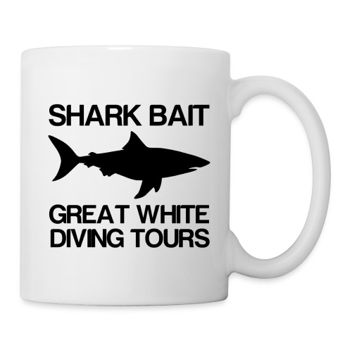 Shark Bait Great White Shark  - Coffee/Tea Mug