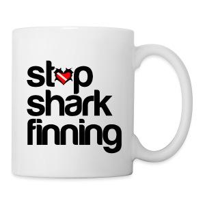 Stop Shark Finning  - Coffee/Tea Mug