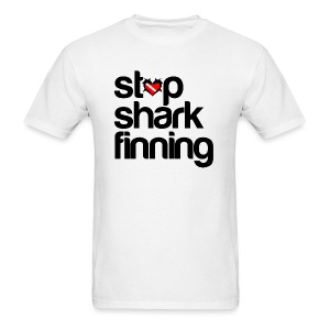 Stop Shark Finning- - Men's T-Shirt