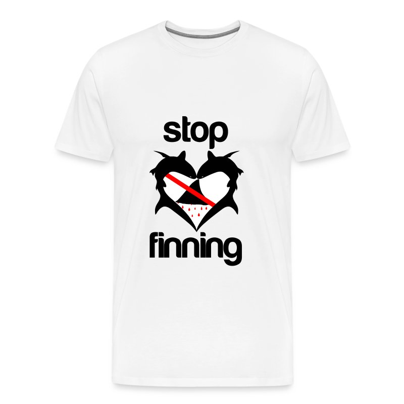 Stop Shark Finning  - Men's Premium T-Shirt
