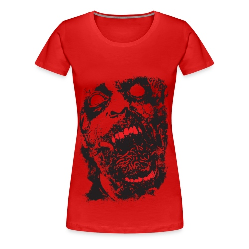 womens horror shirt sizes to 5x - Women's Premium T-Shirt