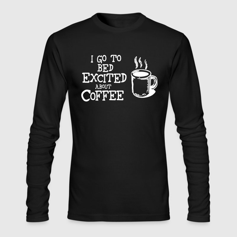 Excited About Coffee Humor Cute Funny Shirts T-Shirt | Spreadshirt