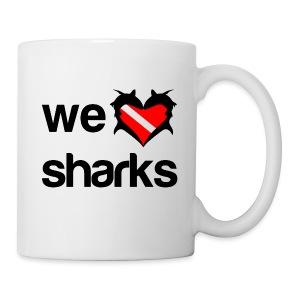 We Love Sharks  - Coffee/Tea Mug