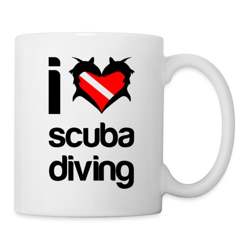 I Love Scuba Diving  - Coffee/Tea Mug