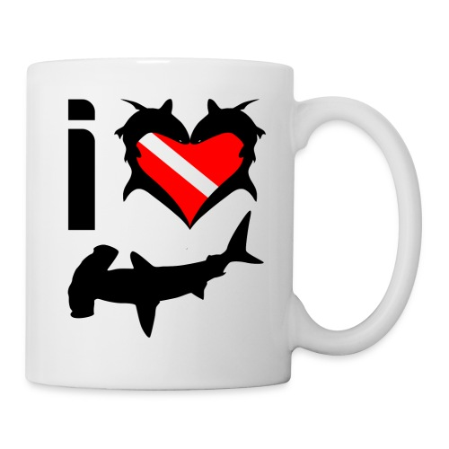 I Love Hammerhead Sharks  - Coffee/Tea Mug