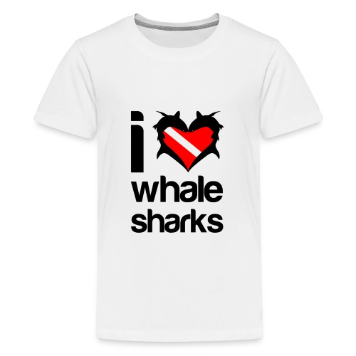 I Love Whale Sharks T-Shirt - Kids' Premium T-Shirt