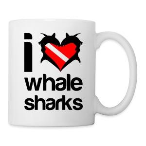 I Love Whale Sharks  - Coffee/Tea Mug