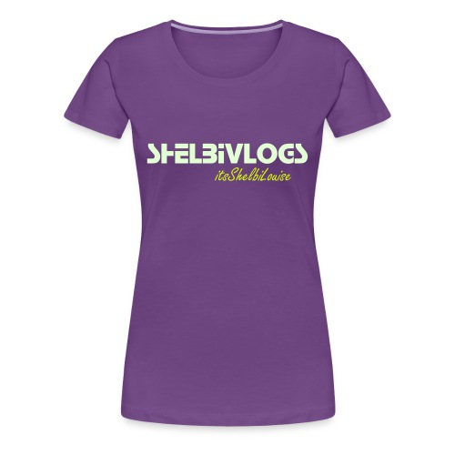 Shelbi Vlogs - Women's Premium T-Shirt
