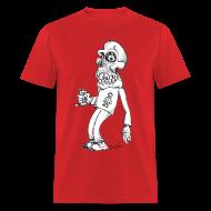 T-Shirts ~ Men's T-Shirt ~ Drunk Skull