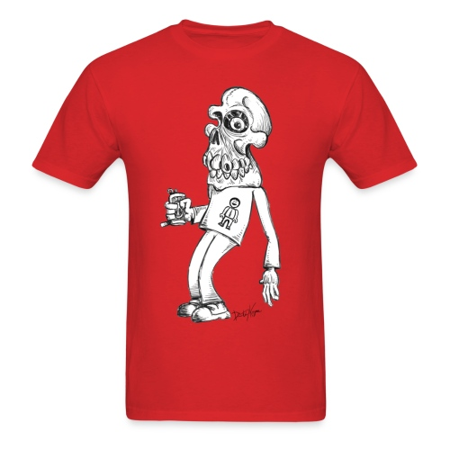 Drunk Skull - Men's T-Shirt