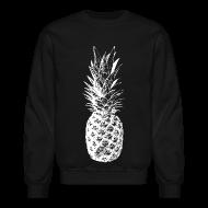 Long Sleeve Shirts ~ Crewneck Sweatshirt ~ Men's Pineapple Sweatshirt