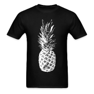 T-Shirts ~ Men's T-Shirt ~ Men's Pineapple T-shirt