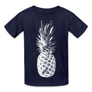 Kids' Shirts ~ Kids' T-Shirt ~ Kid's Pineapple T-shirt