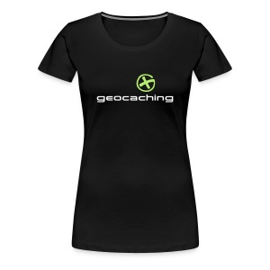 Geocaching - Logo - Women's Premium T-Shirt
