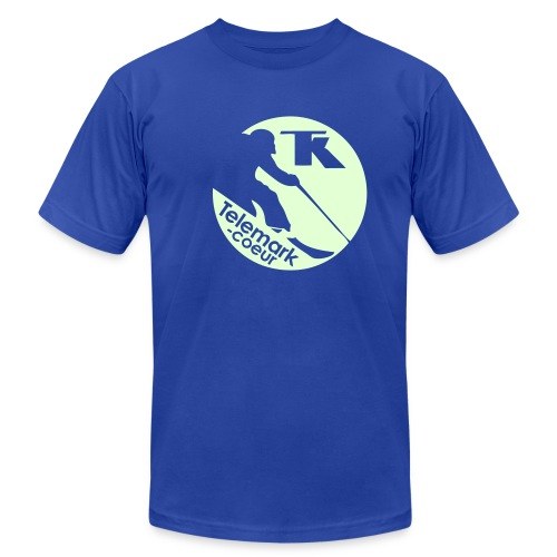 Full Moon Telemark - Men's Fine Jersey T-Shirt