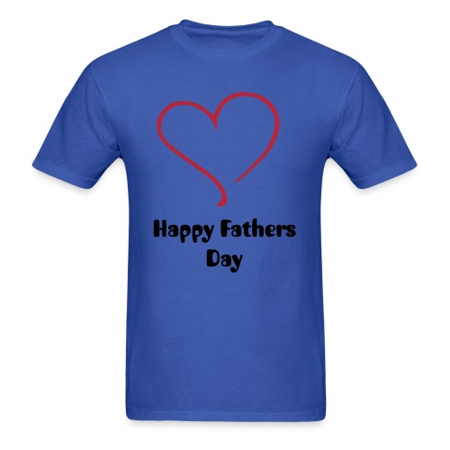 Happy Fathers Day Mens T-Shirt - Men's T-Shirt