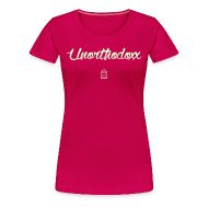 Women's T-Shirts ~ Women's Premium T-Shirt ~ Unorthodoxx II [glow in the dark]