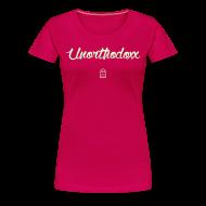 Women's T-Shirts ~ Women's Premium T-Shirt ~ Unorthodoxx II [glow in the dark]