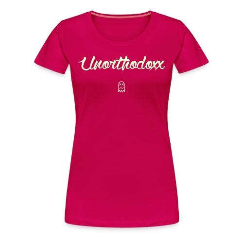 Unorthodoxx II [glow in the dark] - Women's Premium T-Shirt