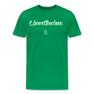 T-Shirts ~ Men's Premium T-Shirt ~ Unorthodoxx II [glow in the dark]