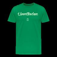 T-Shirts ~ Men's Premium T-Shirt ~ Unorthodoxx II [glow in the dark]