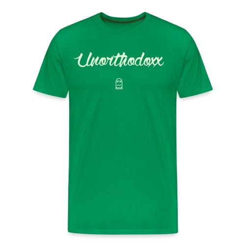 Unorthodoxx II [glow in the dark] - Men's Premium T-Shirt