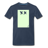 T-Shirts ~ Men's Premium T-Shirt ~ Boxx [glow in the dark]