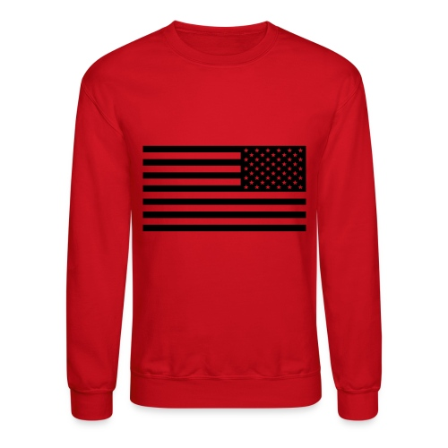 American Flag Crew neck - Crewneck Sweatshirt