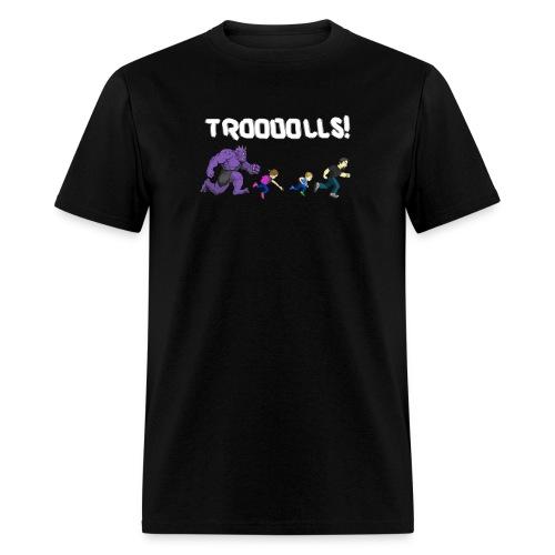 Troooolls! Tommy Head T-Shirt - Men's T-Shirt